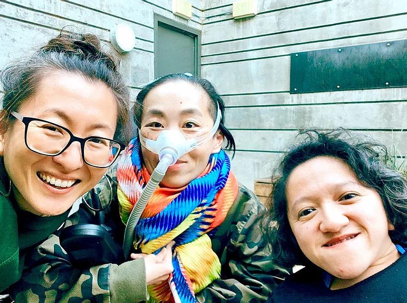 Sandy Ho, Mia Mingus, and Alice Wong