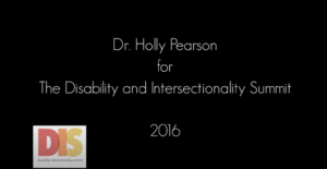 Holly Pearson - Rethinking/Reapproaching Institutional Diversity